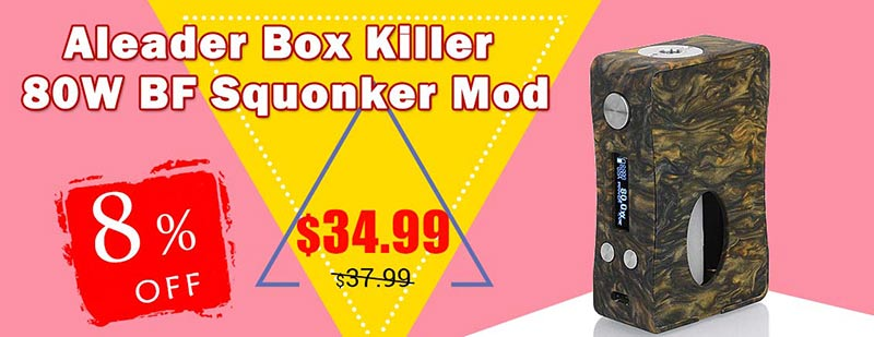 Aleader Box Killer 80W BF Squonker Mod
