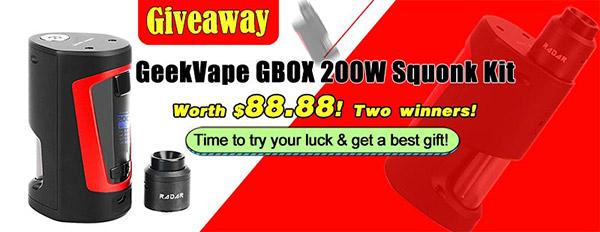 GeekVape GBOX 200W Squonk Kit