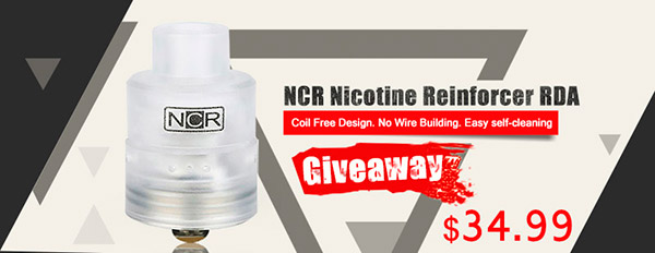 Authentic NCR Nicotine Reinforcer RDA