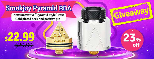 Authentic Smokjoy Pyramid RDA