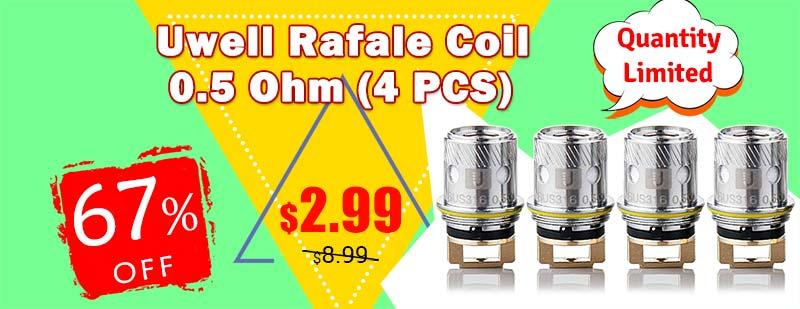 Uwell Rafale Coil 0.5 Ohm (4 PCS)