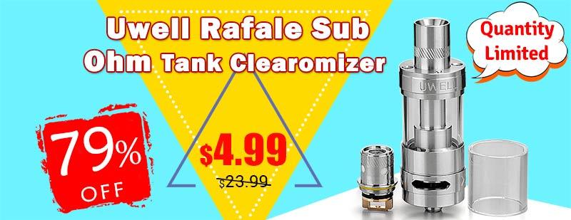 Uwell Rafale Sub Ohm Tank Clearomizer