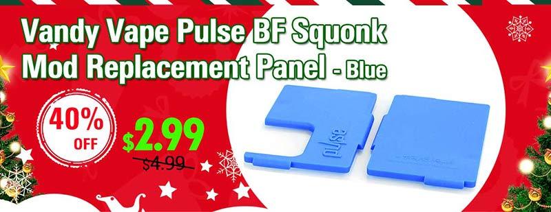 Vandy Vape Pulse BF Squonk Mod Replacement Panel - Blue