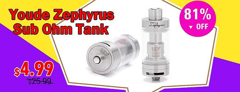Youde Zephyrus Sub Ohm Tank