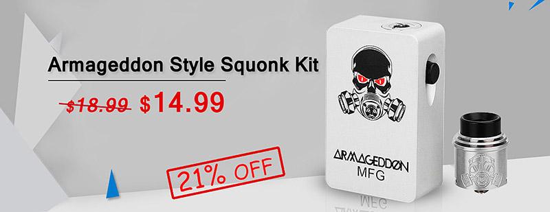Armageddon Style Squonk Kit