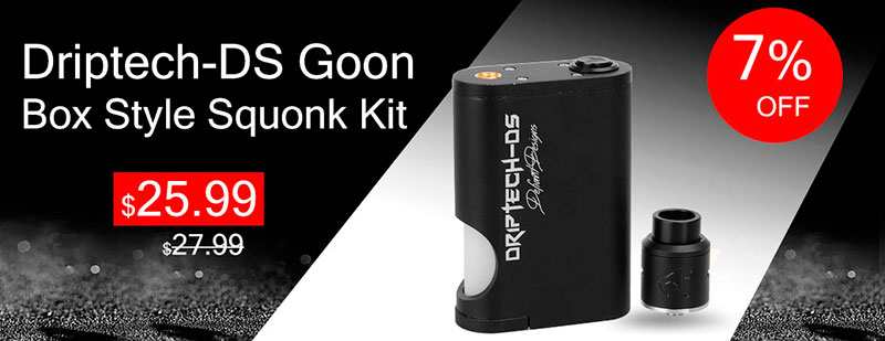 Driptech-DS Goon Box Style Squonk Kit