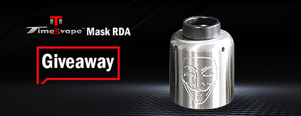 Authentic Timesvape Mask RDA