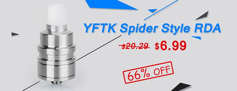 YFTK Spider Style RDA