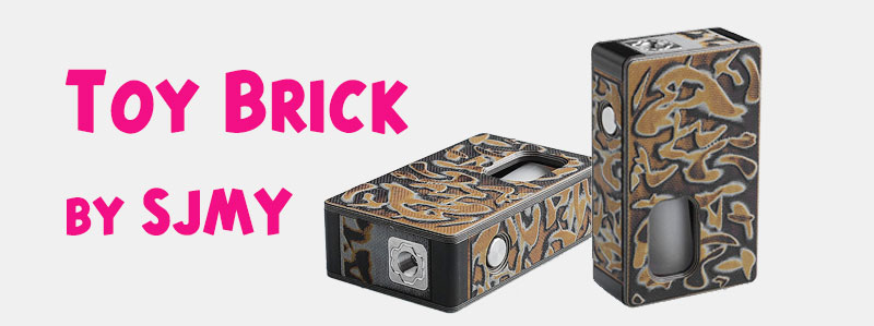 Authentic SJMY Toy Brick Squonk Mod