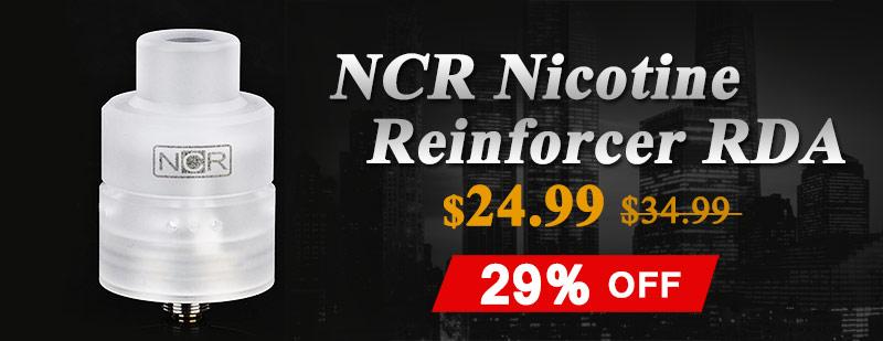 NCR Nicotine Reinforcer RDA