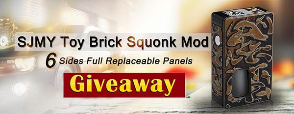 SJMY Toy Brick Squonk Mod