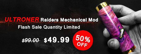 ULTRONER Raiders Mechanical Mod