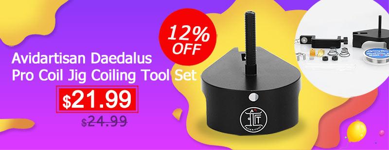Avidartisan Daedalus Pro Coil Jig Coiling Tool Set