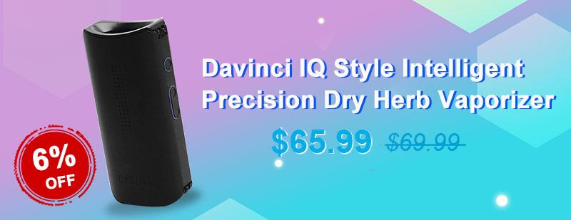 Davinci IQ Style Intelligent Precision Dry Herb Vaporizer