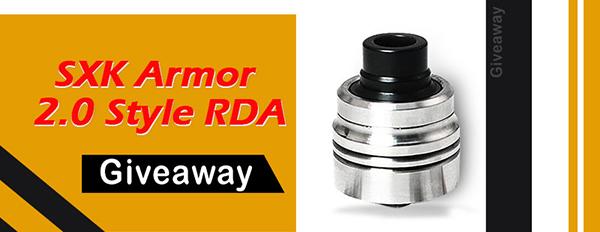 SXK Armor 2.0 Style RDA