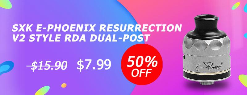 SXK E-Phoenix Resurrection V2 Style RDA