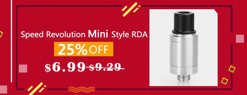 Speed Revolution Mini Style RDA