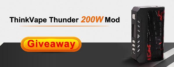 ThinkVape Thunder 200W Mod