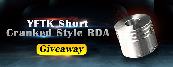 YFTK Short Cranked Style RDA