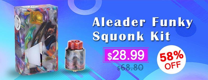 Aleader Funky Squonk Kit