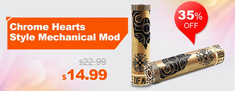 Chrome Hearts Style Mechanical Mod
