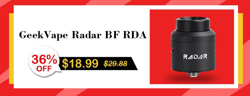 GeekVape Radar BF RDA