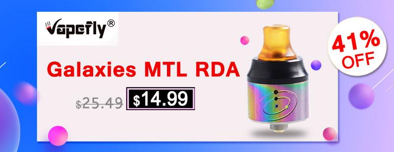 Vapefly Galaxies MTL RDA
