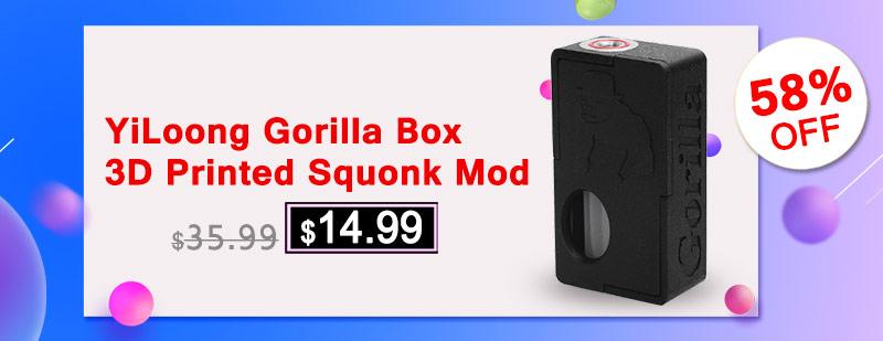 YiLoong Gorilla Box squonk mod