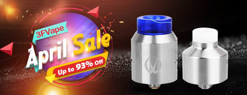 3FVAPE April Sale