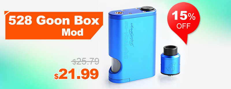 Driptech-DS Goon Box Style Squonker Kit - Blue