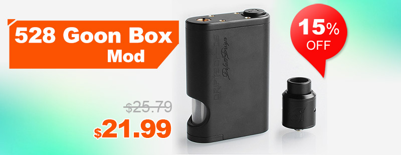 Driptech-DS Goon Box Style Squonker Kit - Black