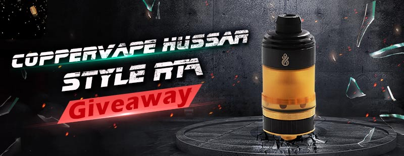Coppervape Hussar Style RTA
