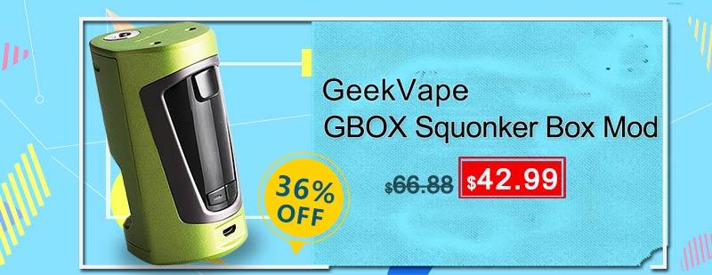GeekVape GBOX Squonker Box Mod