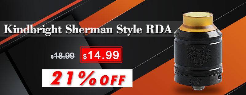Kindbright Sherman Style RDA