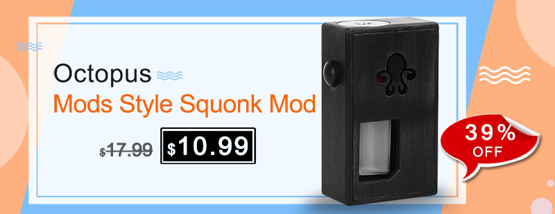Octopus Mods Style Squonk Mod