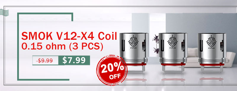 SMOK V12-X4 Coil 0.15 ohm (3 PCS)