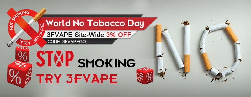 No Tobacco Day Discount