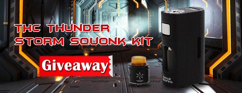 THC Thunder Storm Squonk Kit