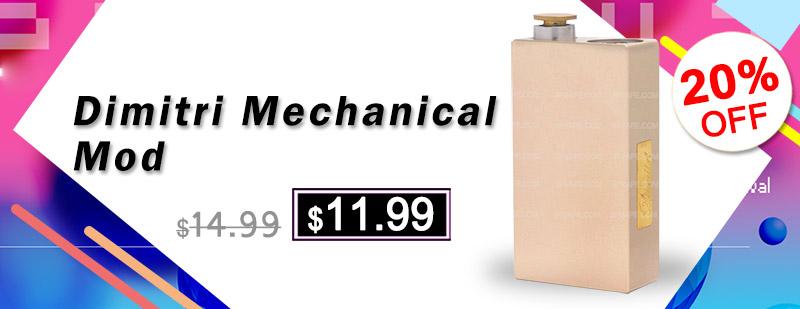 Dimitri Style Mechanical Box Mod