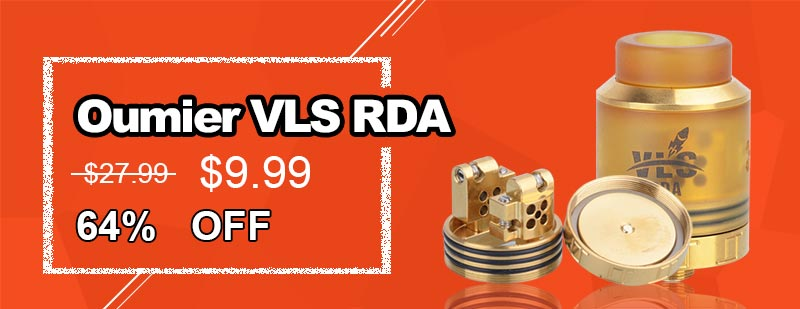 Oumier VLS RDA - Gold