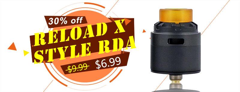 Reload X Style RDA - Black