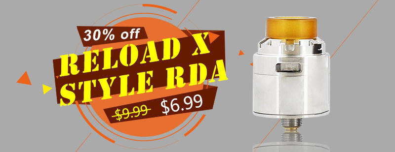 Reload X Style RDA - Silver