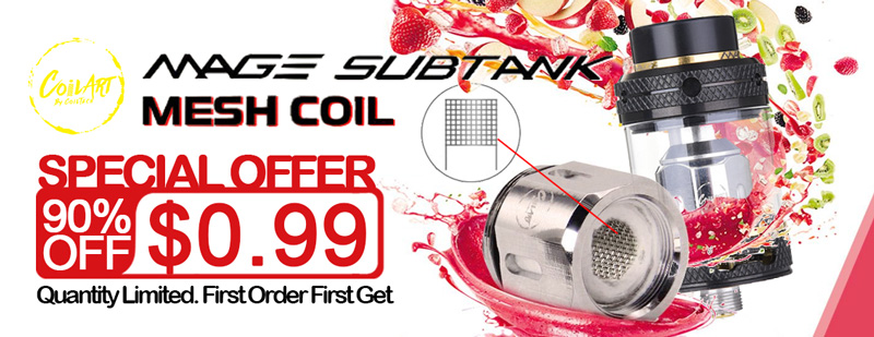 CoilART Replacement Mesh Coil Head