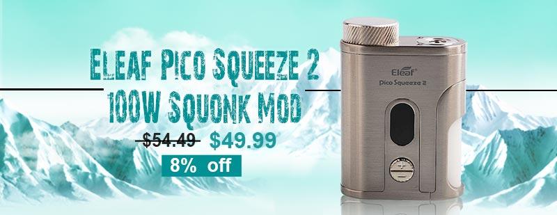 Eleaf Pico Squeeze 2 100W Squonk Mod