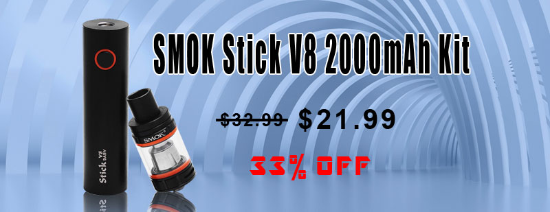 SMOK Stick V8 2000mAh Kit - Black