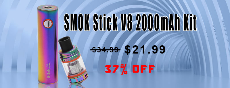 SMOK Stick V8 2000mAh Kit - Rainbow