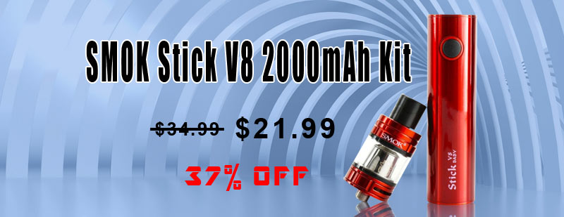 SMOK Stick V8 2000mAh Kit - Red