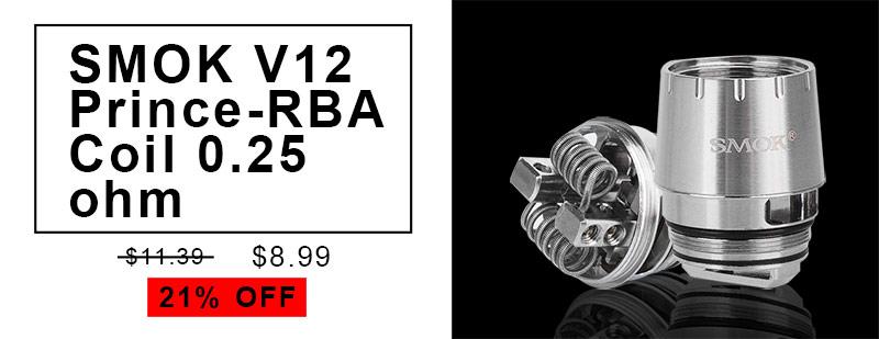 SMOK V12 Prince-RBA coil head