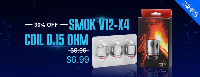 SMOKTech SMOK V12-X4 Coil Heads