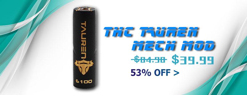 THC Tauren Mech Mod - Brass
